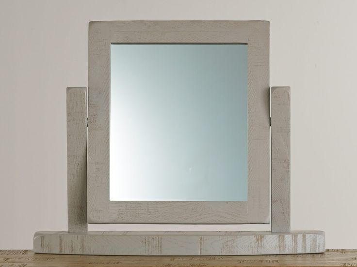 Clermont Painted Rough Sawn Oak Dressing Mirror | Clermont Range £64