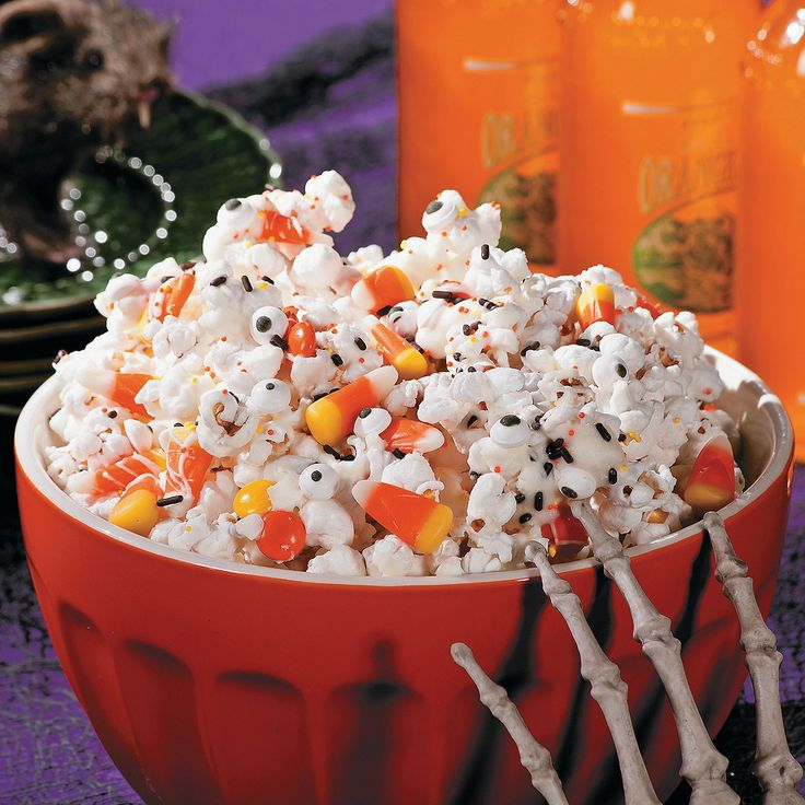 monster munch popcorn recipe free n fun halloween from oriental trading thought this was great idea - Oriental Trading Free N Fun 2