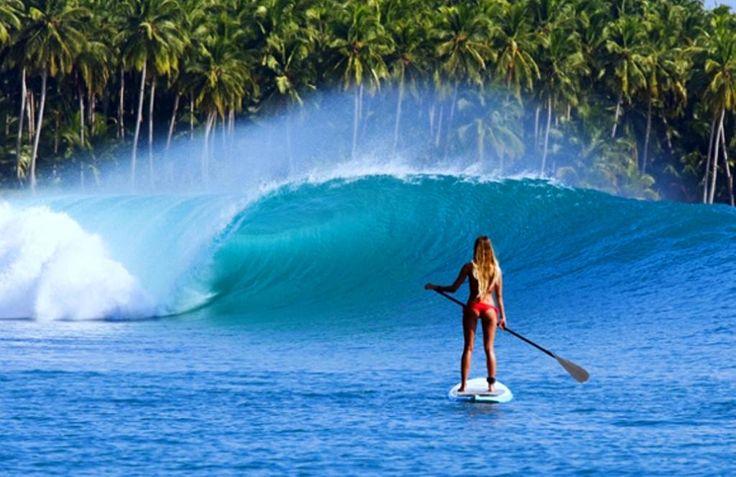 Fantastic Hawaiian surfing on the Oahu. USA | Фантастичний гавайський серфінг на острові Оаху. США