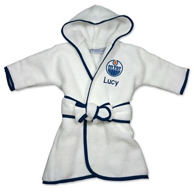9 best edmonton oilers baby gifts images on pinterest baby gifts new orleans pelicans infant personalized robe white find this pin and more on edmonton oilers baby gifts negle Image collections