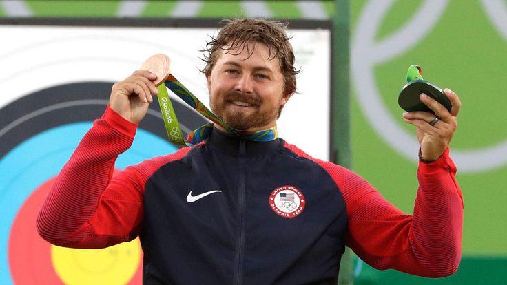 Brady Ellison Wins Bronze in Men's Individual Archery