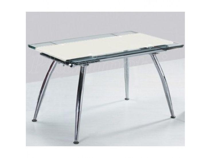 Стеклянный стол трансформер (С114 белый) 0 грн Раскладные стеклянные столы…