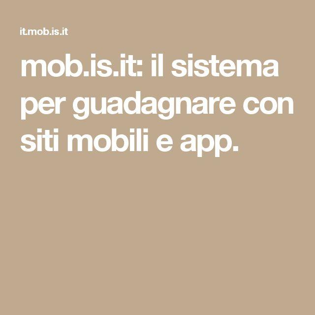 Siti mobili crea u siti mobili e app native with siti for Miglior design di siti web di mobili
