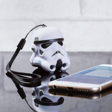 Mini enceinte bluetooth Stormtrooper Star Wars #geek #starwars #bluetooth #gadget #hightech #cadeau #sormtrooper
