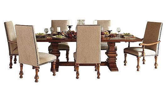 Gaylon Extension Pedestal Dining Table