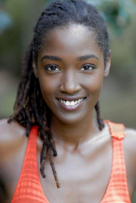 Wunderschöne Schwarze Frau
