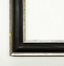 Holzrahmen Bilderrahmen Antik Barock Shabby Fenice Schwarz 3,0 - Top Qualität