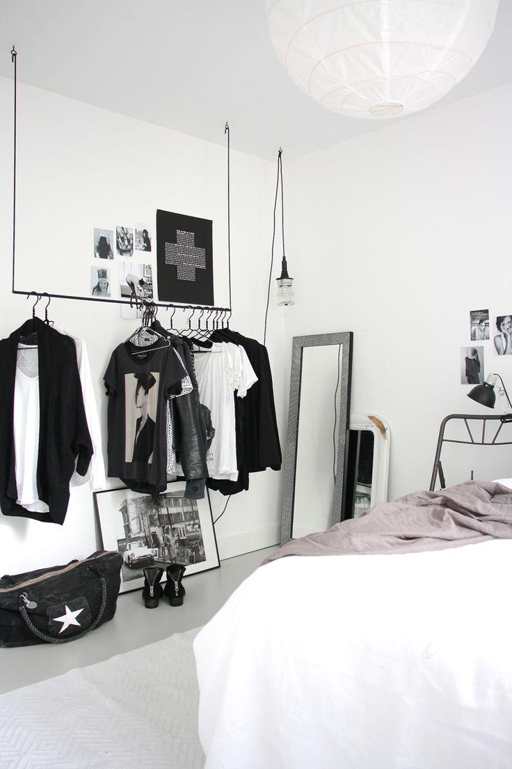 ... Bedroom Hanging Clothes Rackshanging. Download