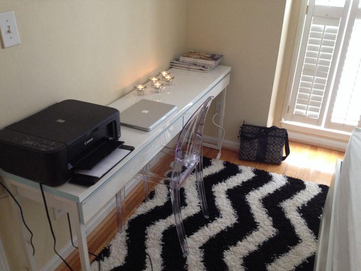 besta burs desk ikea bedroom makeover pinterest desks ikea printers and the o 39 jays. Black Bedroom Furniture Sets. Home Design Ideas