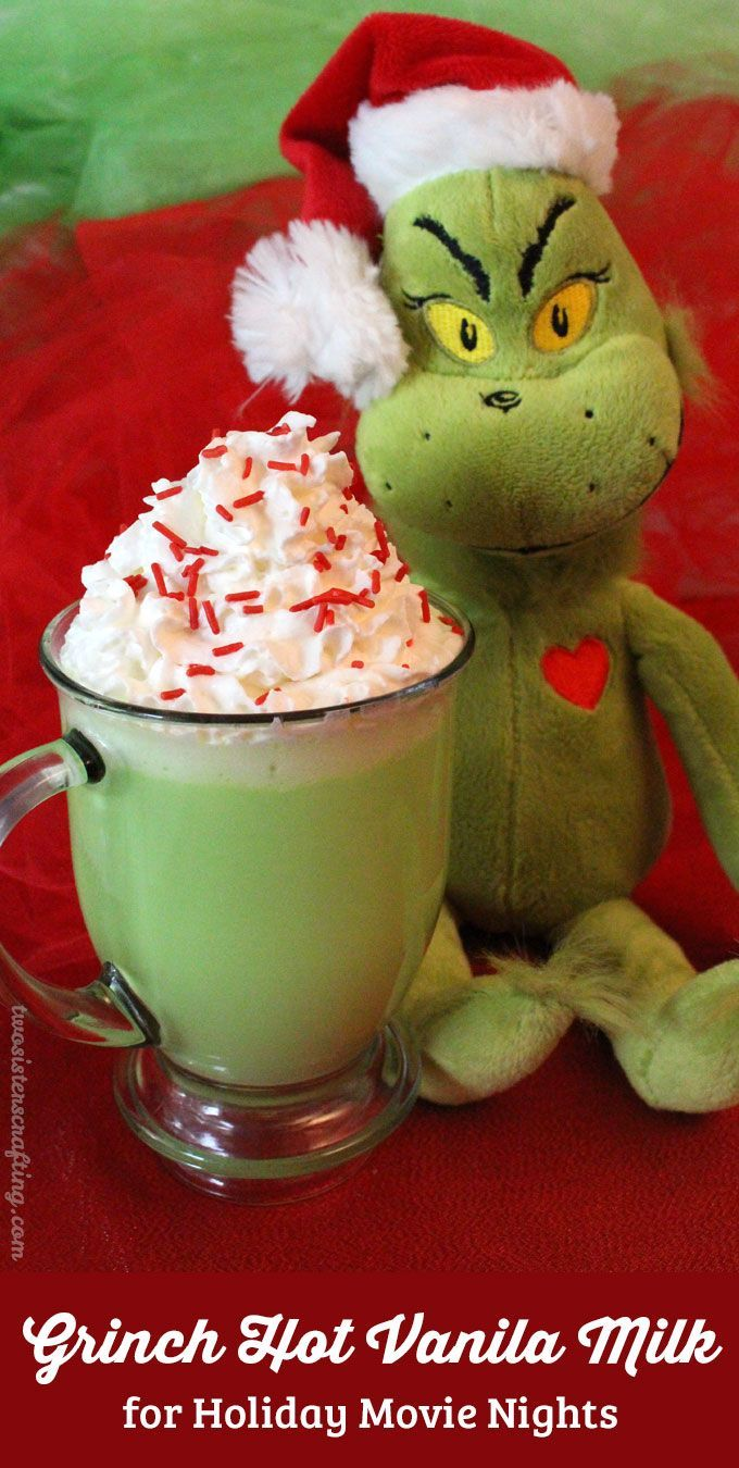 Our Grinch Hot Vanilla Milk is a fun How the Grinch Stole Christmas themed Christmas Treat that is so easy to make. It tastes great too! It is guaranteed to make YOUR heart grow three sizes and fill you with the true meaning of Christmas just like the Grinch.