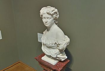 Jean-Baptiste Carpeaux, Portrait of Nadine Dumas in Los Angeles, CA, United States
