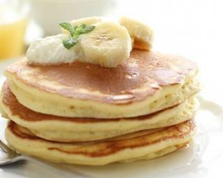 Pancake de banane allégé spécial petit déjeuner