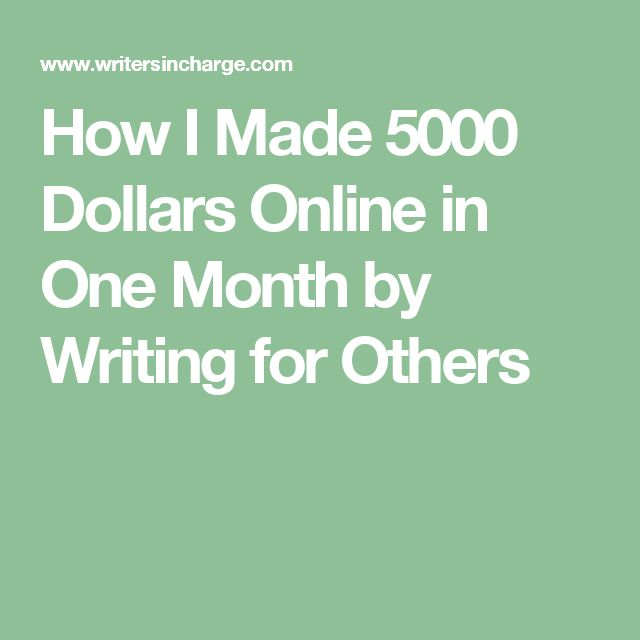 how to make thousands online