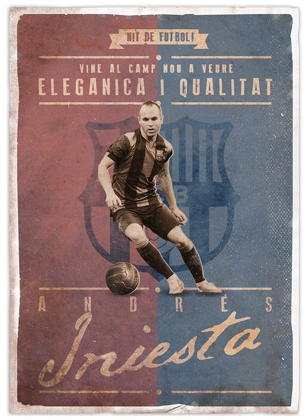 Vette retro voetbalposters voor bij jou aan de muur |