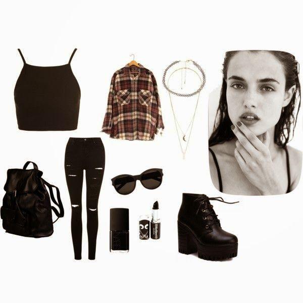 Eğer giyim tarzımı iki kelimede tanımlayacak olsaydım bu kelimeler: Siyah ve Rahat olurdu. Siyah eyeliner, mat ruj, salaş tişört, dar pantol...