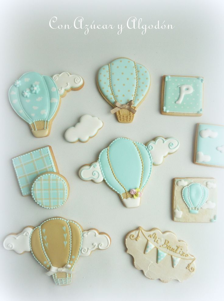 Galletas decoradas de bebé