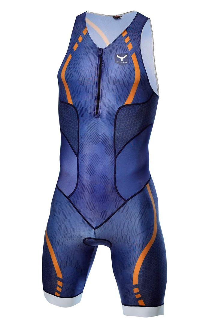 Trisuit de larga distancia de hombre para hacer triatlón T31.5-SHOP (SWIM RUN) | Taymory