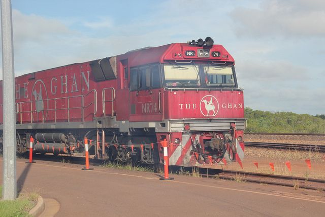 The Ghan Train Australia http://www.tipsfortravellers.com/ghan-train-australia-video-tour-iconic-railway-journey/ #australia #theghan #trains