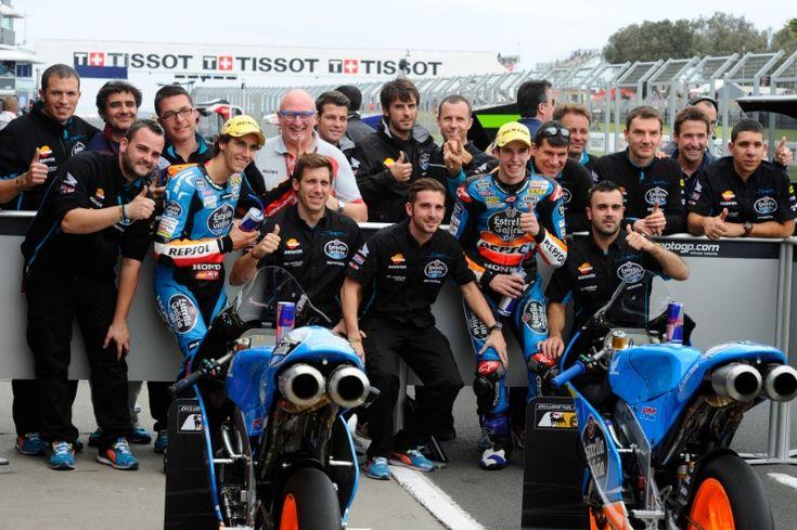 Alex Marquez, Rins, Team, Australian MotoGP 2014