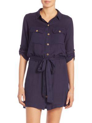 HEIDI KLEIN - Belted Shirtdress