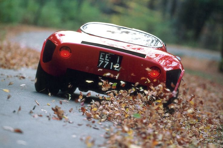Alfa Romeo Tipo 33 Stradale. Having a bit of a crisis.