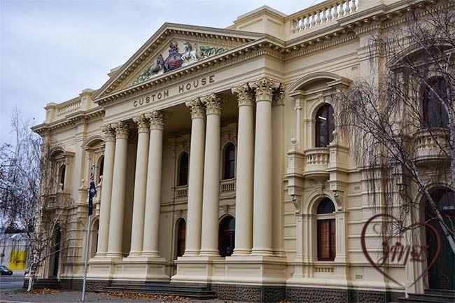 Custom House, Launceston. Tasmania. Australia.