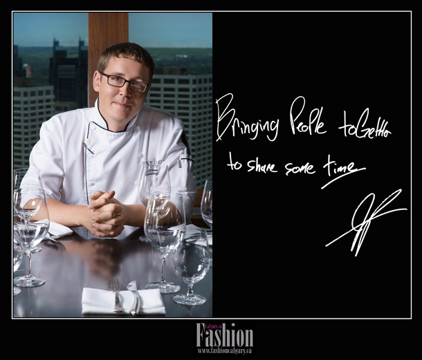 Chef JP Gerritsen -Fashion Calgary Portrait Campaign