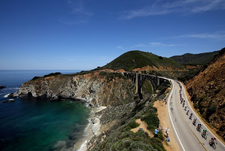 Amazing road trips around the world, PACIFIC COAST HIGHWAY, U.S. The stunning 123-mile coastal route, which begins in Monterey and ends at at Morro Bay, is considered to be the most iconic drive in North America. It threads through central California, cutting through Carmel-by-the-Sea and Big Sur, and offering staggering views of the sparkling Pacific.