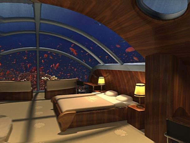 海の中に泊まろう! 世界初の海底リゾート「Poseidon Undersea Resort」   roomie(ルーミー)