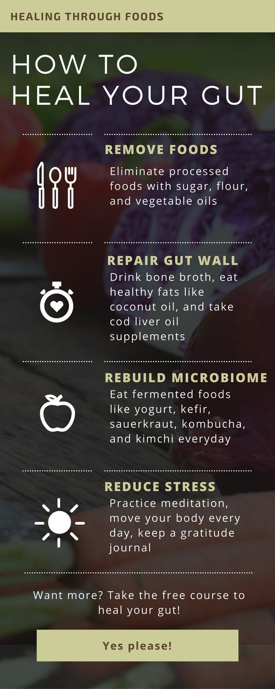 Natural ways to heal your gut!