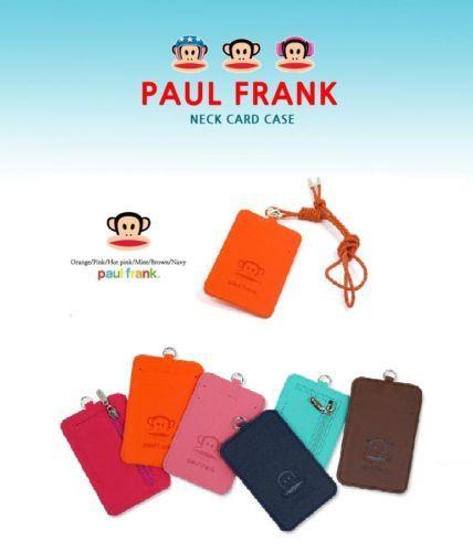 PAUL FRANK Lanyard Neck Card Case/ Lanyard Purse/Card Case Holder