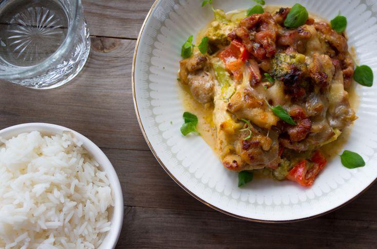 Kyllingform — Magevennlig mat