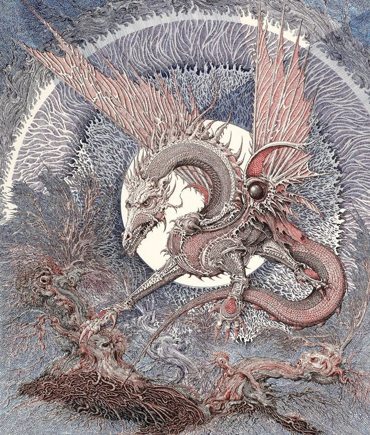 The fantasy artwork of Ian Miller