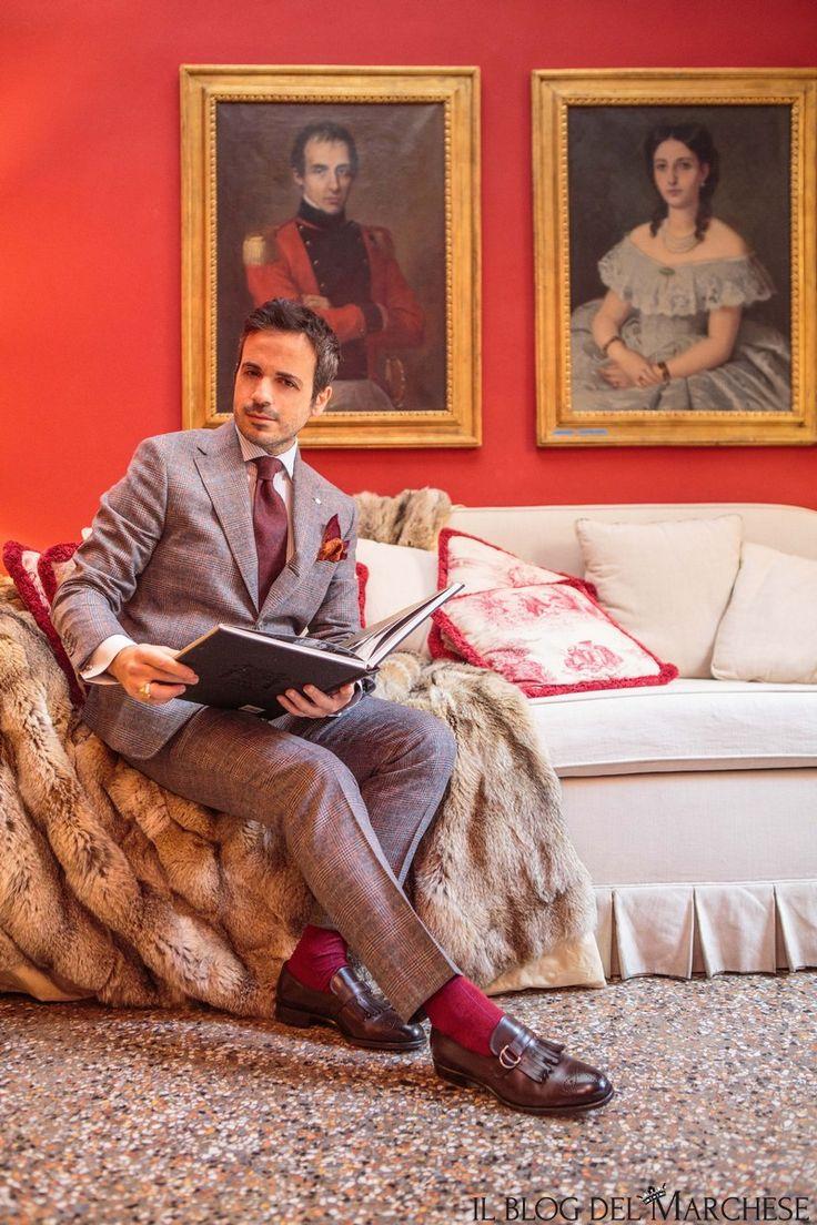 come abbinare un abito in-principe-di-galles http://www.ilblogdelmarchese.com/come-abbinare-il-principe-di-galles/ #ilblogdelmarchese #gentleman #dandy #moda #modauomo #menswear #mensstyle #style #fashion #mensfashion #bespoke #sprezzatura #eleganza #classic #men