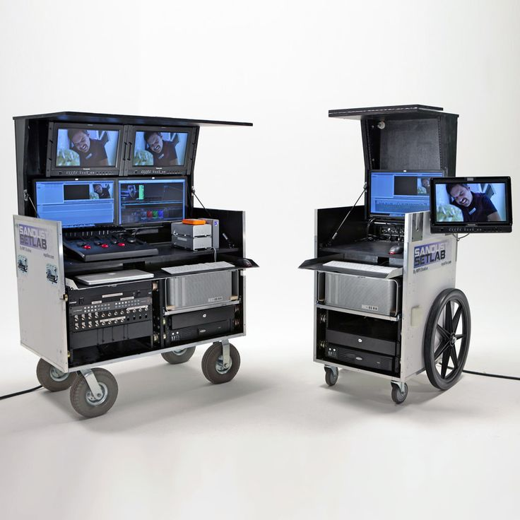 A two cart setup. Live colour-timing and full-dailies processing from one of the best in the business in North America, Sandust Setlab.