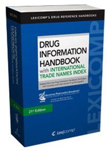 Drug Information Handbook 2012-2013 w/International Trade Names Index , 21st Edition