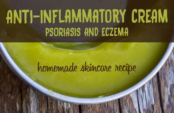 Are you looking for an anti-inflammatory cream that works for psoriasis or eczema? You may want to give a try to this recipe! It's very easy to make it yourself!