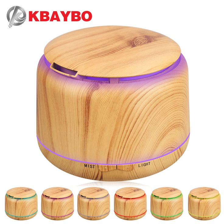 compare prices 300ml ultrasonic humidifier aroma essential oil diffuser wood grain cool mist #aromatherapy #diffuser