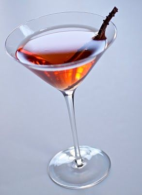 Red Carpet Chocolate Cherry Martini