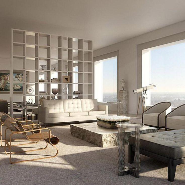Как выглядит квартира за 95 миллионов долларов. 432 Парк-Авеню – это адрес украшения нью-йоркского горизонта и самой высокой жилой башни в Западном полушарии | Golbis