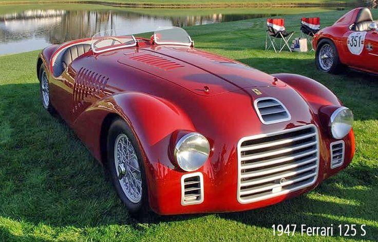 32 best 1947 ferrari 125 s images on pinterest ferrari alfa romeo and ferrari racing. Black Bedroom Furniture Sets. Home Design Ideas