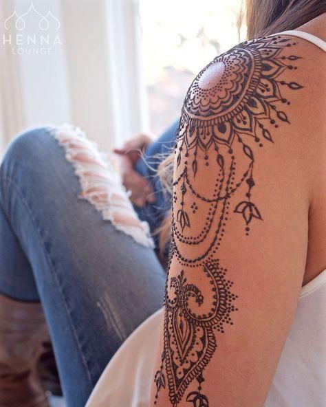 ... | Tattoos mandala Rose mandala tattoo and Mandala tattoo shoulder #TattooIdeasShoulder