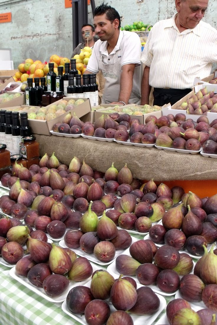 Because of the local characteristics you never find any where else. Like these Fresh Figs that are for sale at the Eveleigh Farmer's Market in Sydney, Australia