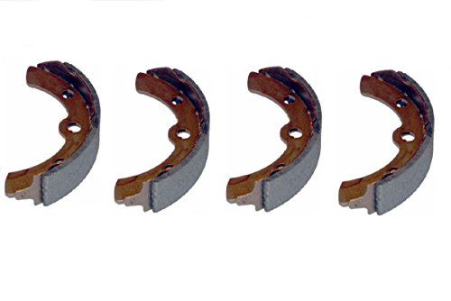(4) Club Car replacement Brake shoes , pads 1994 and Up DS Models , 2004 and UP Precedent models Replace OEM # 1018232-01 and Stens # 285-012