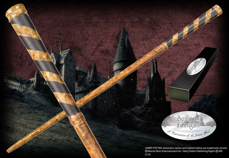 Bacchetta magica Seamus Finnigan Harry Potter Character Edition Noble Collection - https://www.vendiloshop.it/manga-e-action-figures-gadget/579714-bacchetta-magica-seamus-finnigan-harry-potter-character-edition-noble-collection-0812370014408.html - Disponibile in pronta consegna a 27,42 € solo su vendiloshop.it #vendiloshop #gadget #toys #popculture #harrypotter
