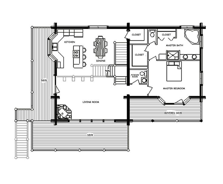 34 best dream home floor plans images on pinterest | log home