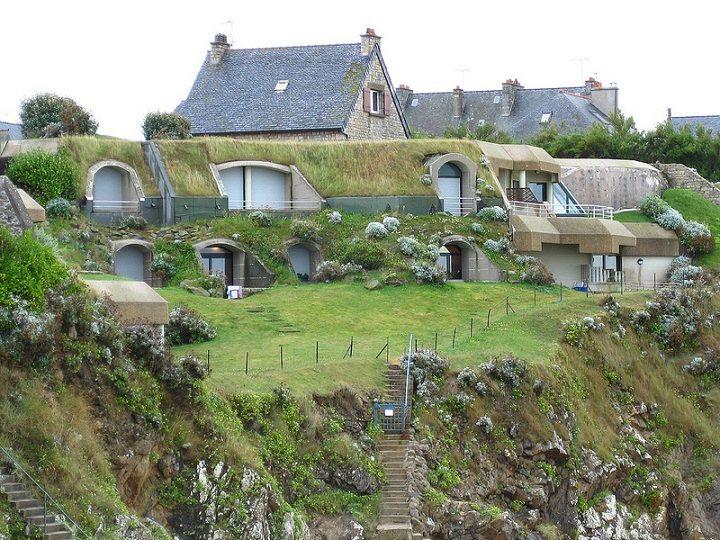 Best Earthshipundergoundearthtroglodyte House Images On - Unforgettable underground homes