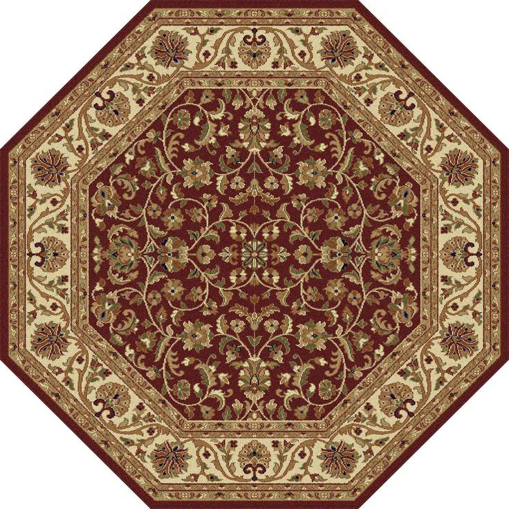 alise soho octagon area rug 5 u00273 round