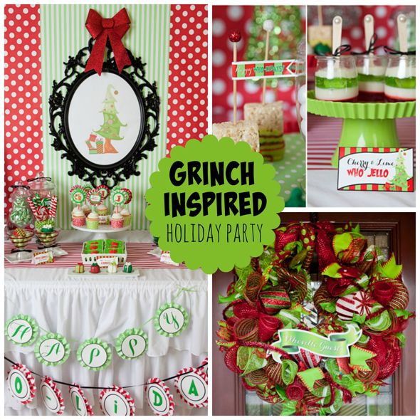 whoville christmas party grinch bday grinch christmas party ideas dr ...