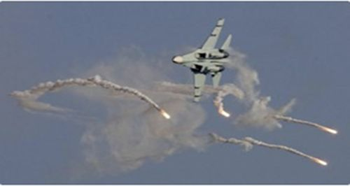Nigerian Air Force new MI-35M bombs Boko Haram in Parisu, Borno